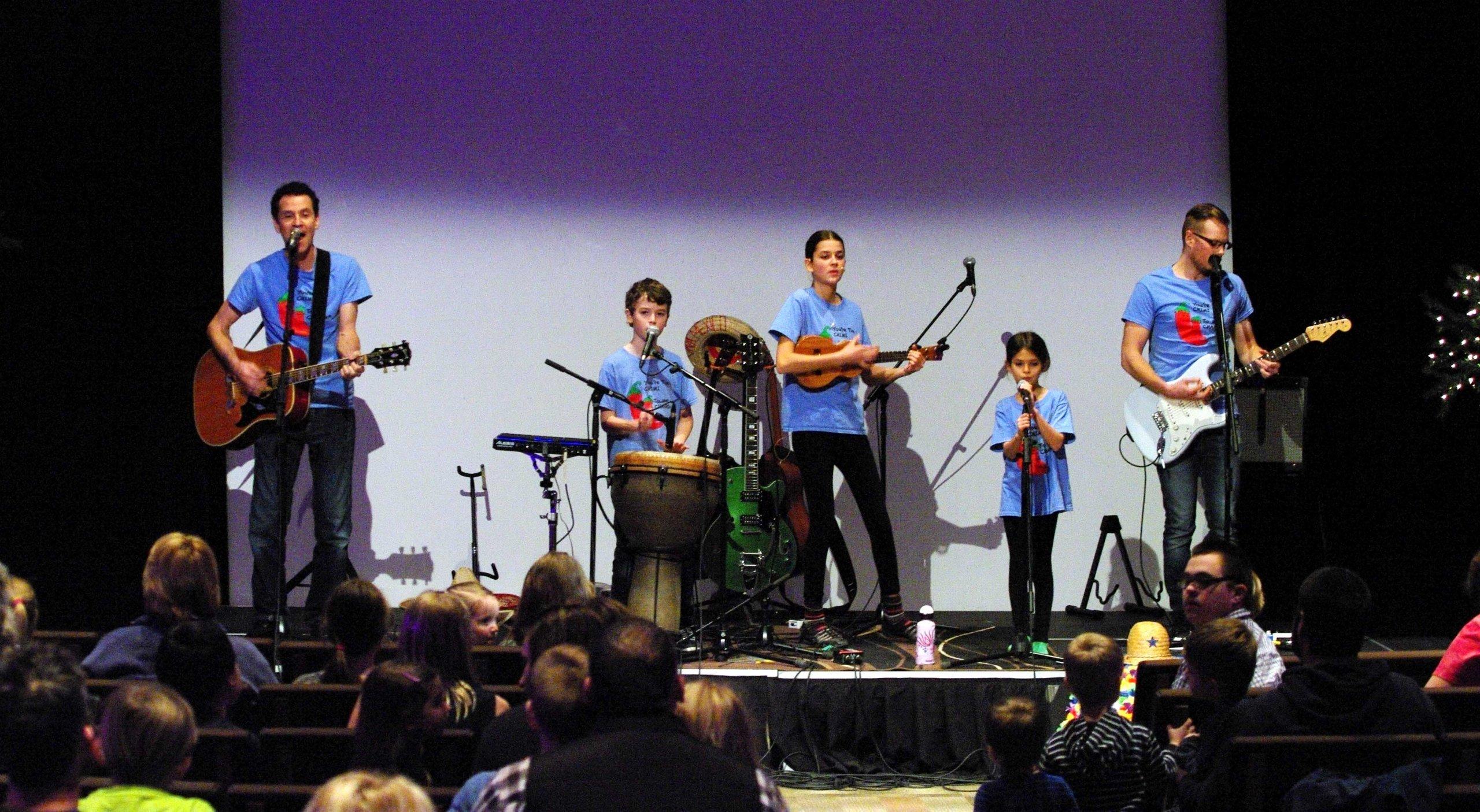 The Springmans family concert, kids music