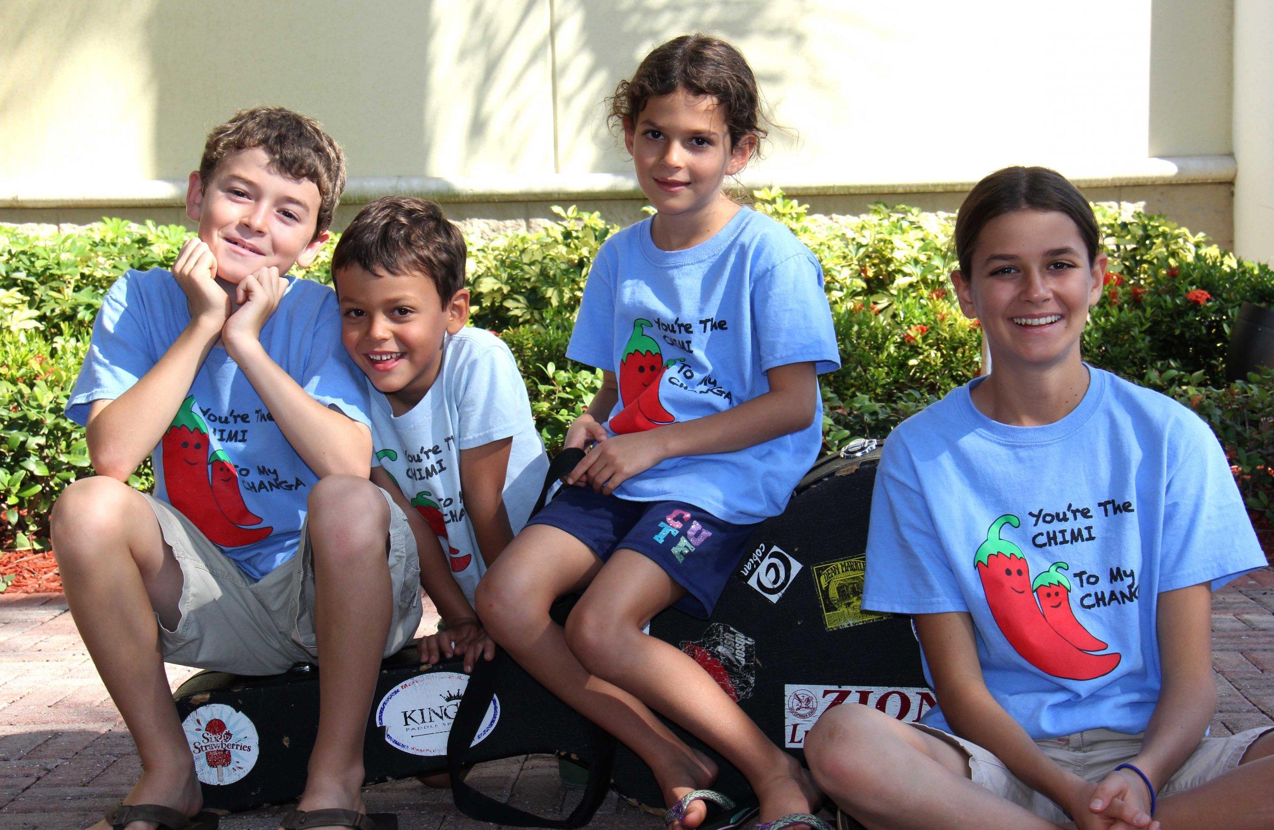 The Springmans kids - Ryan, Jacob, Sarah and Emma Springman