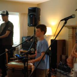 The Springmans rehearsal