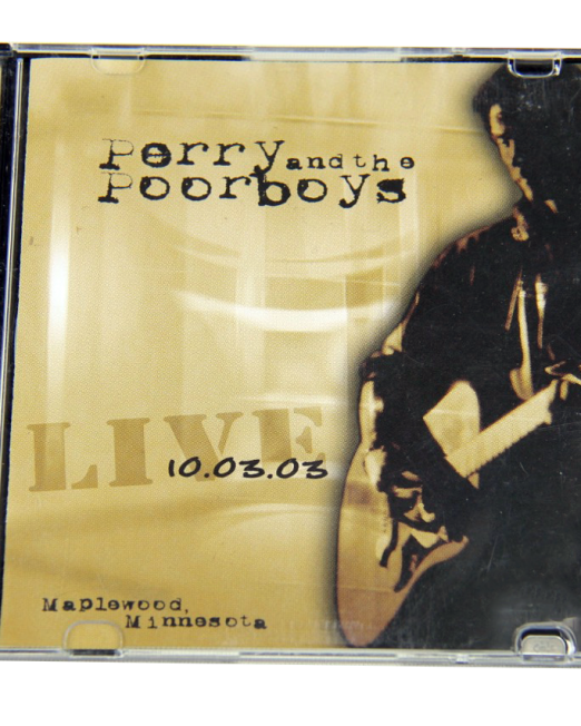 Perry and the Poorboys - Live 2003 CD