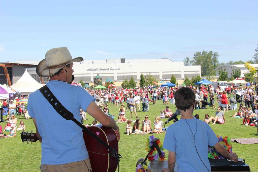 The Springmans concert, Canada Day