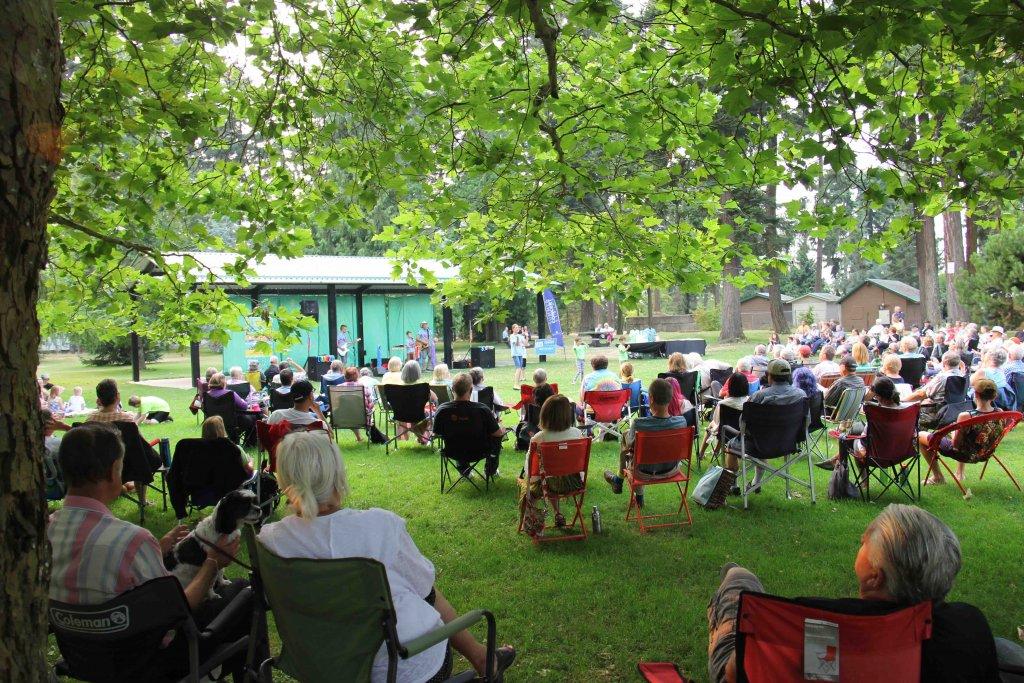 The Springmans festival concert performance, Parksville, BC
