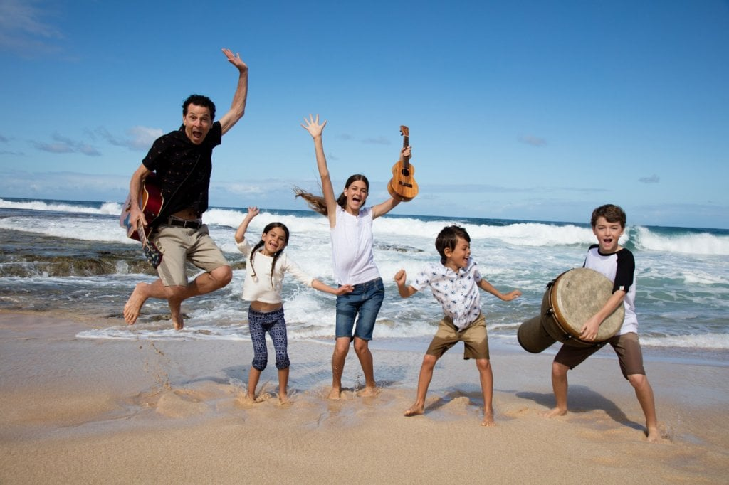 The Springmans Happy Beach kids music